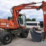 Атлас 0,8м3 (экскаватор) ТТХ-0,8 м3 цена 700р. за 1 час (мин. 4 часа)