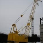РДК 250 (гусенчный кран)  ТТХ-25т, 32,5м, гусен. 5м. цена 600р за 1 час (мин. 4 часа)
