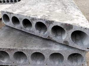 Плиты перекрытий круглопустотные